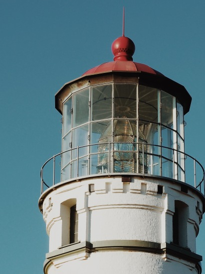 The lighthouse at Cape Blanco.